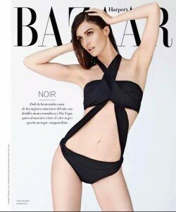 paz vega harpers bazaar cover mexico shoot